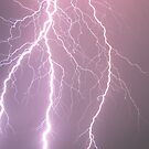 Lightning - Clifton, South East Queensland 18-11-09 by Matthew Smith