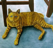 Yellow Cat by Jennifer Herrin