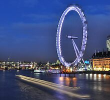 London eye by Shehan Fernando