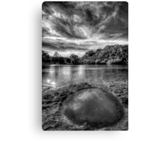 Vanity Puddle Canvas Print