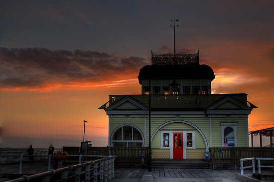 end of Pier,St Kilda,Melbourne,Australia by Max R Daely