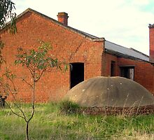 Historic East Loddon shearers' cooks quarters by Julie Sleeman
