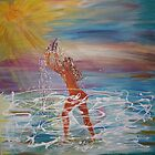 Summer Solstice Showering  2009 by eoconnor