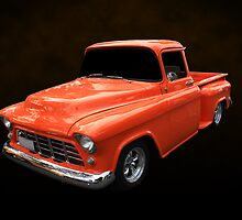 55 Chevy Stepside by Keith Hawley