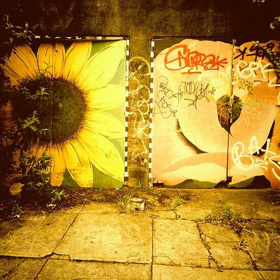 Flowery Garage - Portland, Oregon by KeriFriedman