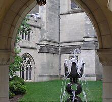 Fountain Sculpture by Krystal Iaeger
