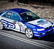 Matthew Else - SS3 Myponga Reservoir asp Adelaide Tarmac Rally 2010 by Clintpix