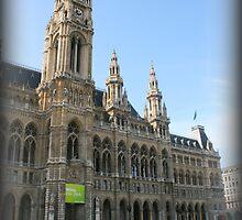 Vienna Rathaus by gmirage2