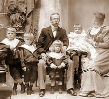 Chile 1898. My Beloved Family. by Daidalos