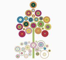colors tree by Amalia Iuliana Chitulescu