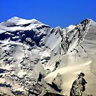 Balmhorn altitude 3699m, Altels altitude 3629m Bernese Alps, Switzerland by eveline