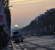 Paris s'eveille by gexgessien