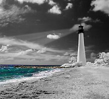 """""""Cape Florida Lighthouse"""" by Barbara Simmons"""