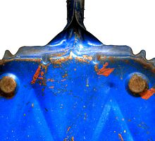 Dustpan Bleu by knobby