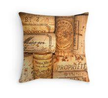 Cork Art Throw Pillow