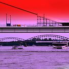 Bridges of Cologne by TCL-Cologne