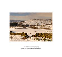 Potter's Nab, Church Houses, Farndale, North Yorkshire Moors by James Paul