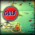 Gulf Oil Buoy by VintageBeach