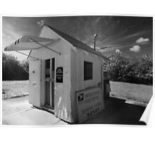 Smallest Post Office in the United States Poster