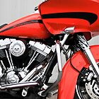 HD Road Glide by Gary Paakkonen