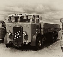 1938 ERF 6 Wheeler by David J Knight
