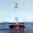 blue splash by Angel Warda