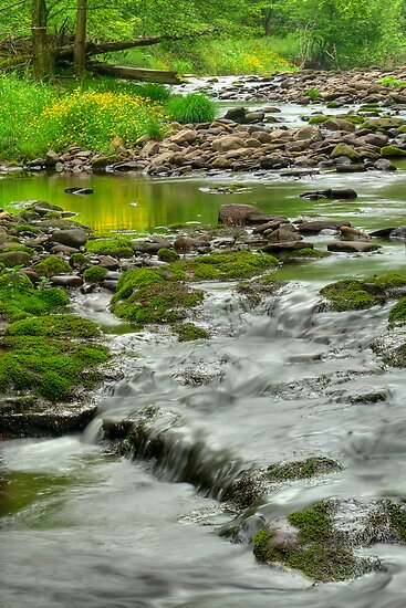 Rolling River by JHRphotoART