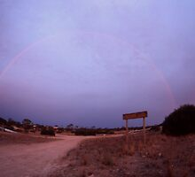 Double Rainbow,Eyre Peninsula,South Australia,2005,No.2 by muz2142