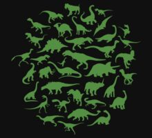 DINOSAURS - light green by xTRIGx