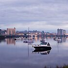 The Mersey River, Devonport, Tasmania by Will Hore-Lacy