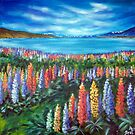 Wild Flowers, NZ by Ira Mitchell-Kirk