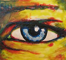 Encaustic Eye by Kieran  Sturgeon
