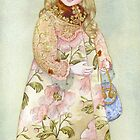Watercolour from a series &quot;Doll&quot; by Masha Kurbatova