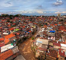 Tiled Roofs of Bandung by Dale Allman