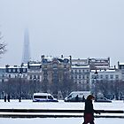 Snowy day in Paris by Fabio Procaccini