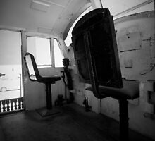 Chair in train by ritheone