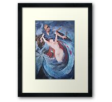 The Siren and the Fisherman Framed Print