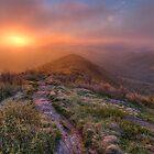 Shining Rock Sunrise by Spencer Black