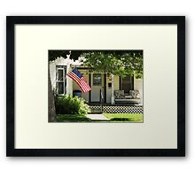 Small Town Pride Framed Print