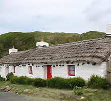 Cottages at Niarbyl, Isle Of Man by Nick Barker