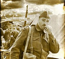 """Private """"Walker"""" - Dad`s Army - 1940 by Colin  Williams Photography"""