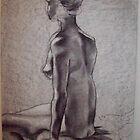 Woman's Back by arlenecalamaya