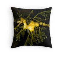Leafy Sea Dragon! Throw Pillow