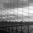 Brooklyn Bridge, New York - B/W by corder-courtier
