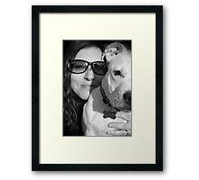 Millie & Me! Framed Print