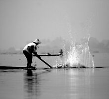 boatmen of inle lake by Colinizing  Photography with Colin Boyd Shafer