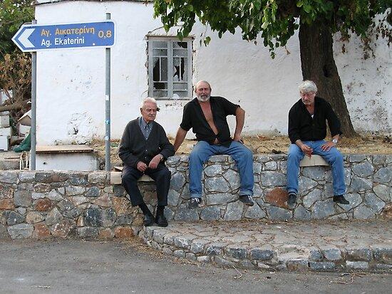 Three Cretans by Gillian Anderson LAPS, AFIAP