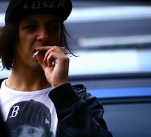 badass maccas pitstop cigarette by Laura Owsianka