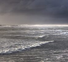 Storm passes on by the beach by millhouse