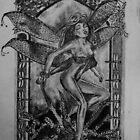 Dragonfly Fairy - art nouveau   by Susan van Zyl